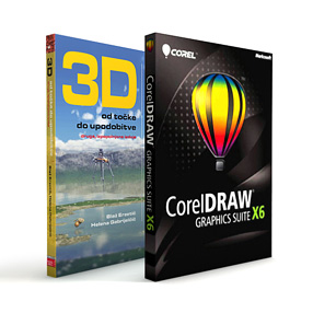 CorelDRAW<sup>�</sup> Graphics Suite X6 Nadgradnja - programska in digitalna oprema