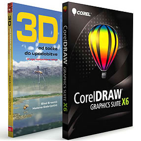 CorelDRAW Graphics Suite X6 - programska in digitalna oprema